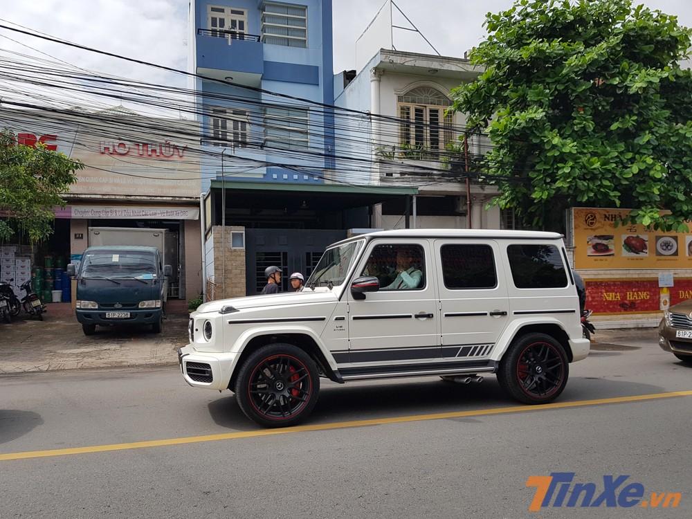 Doanh nhân Bình Dương tậu Mercedes-AMG G63 Edition 1 màu trắng tương tự xe của Minh Nhựa