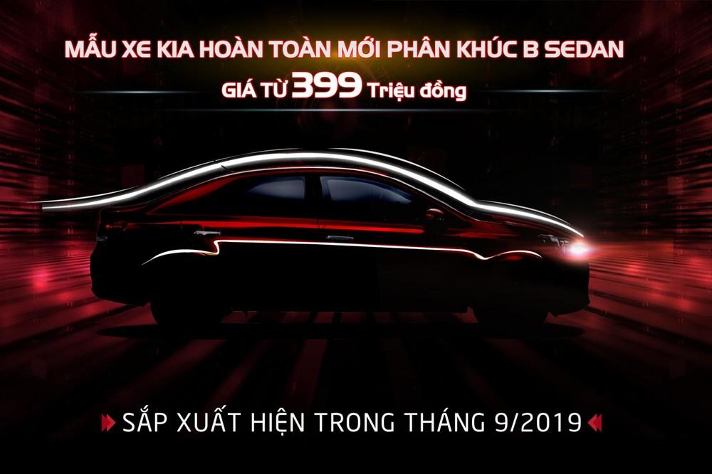 Ngày 14/9/2019 tới đây, KIA Soluto sẽ chính thức được ra mắt khách hàng Việt Nam.