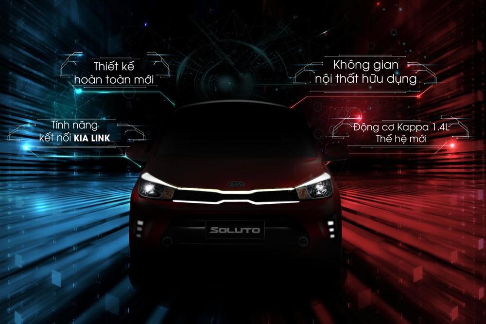KIA Soluto chính thức hé lộ thông số kỹ thuật của xe.
