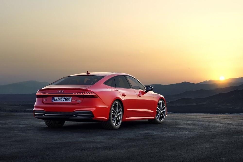 Trang bị hệ truyền động PHEV giúp Audi A7 Sportback 55 TFSI e quattro có khả năng tiết kiệm nhiên liệu ấn tượng