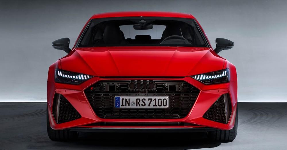 Đầu xe Audi RS7 Sportback