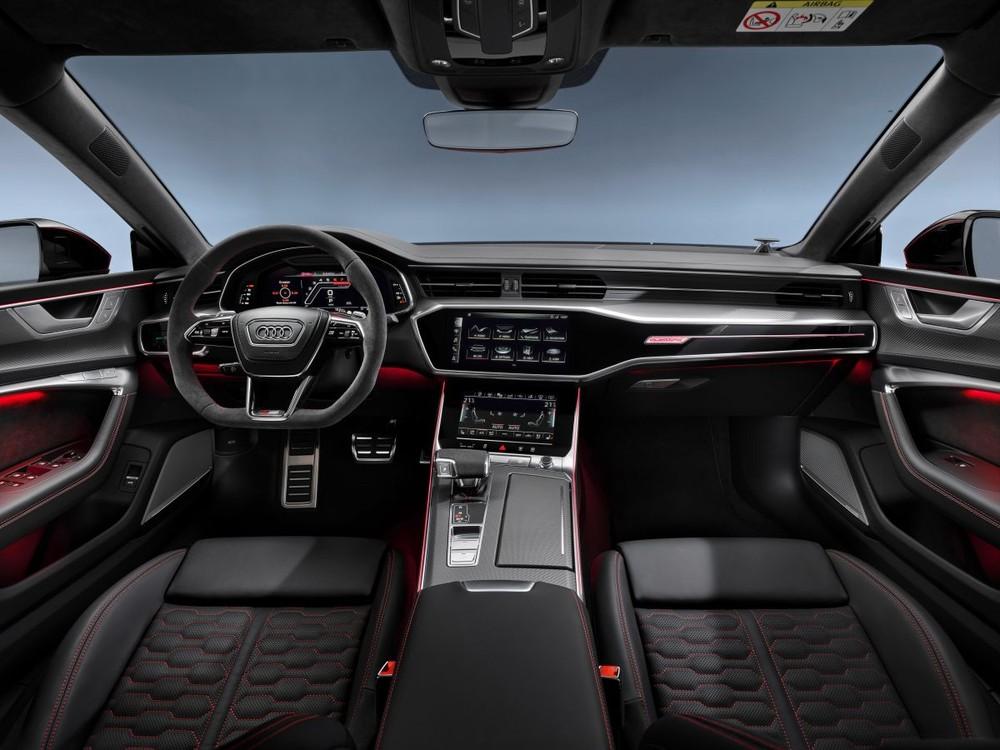 Khoang lái Audi RS7 Sportback