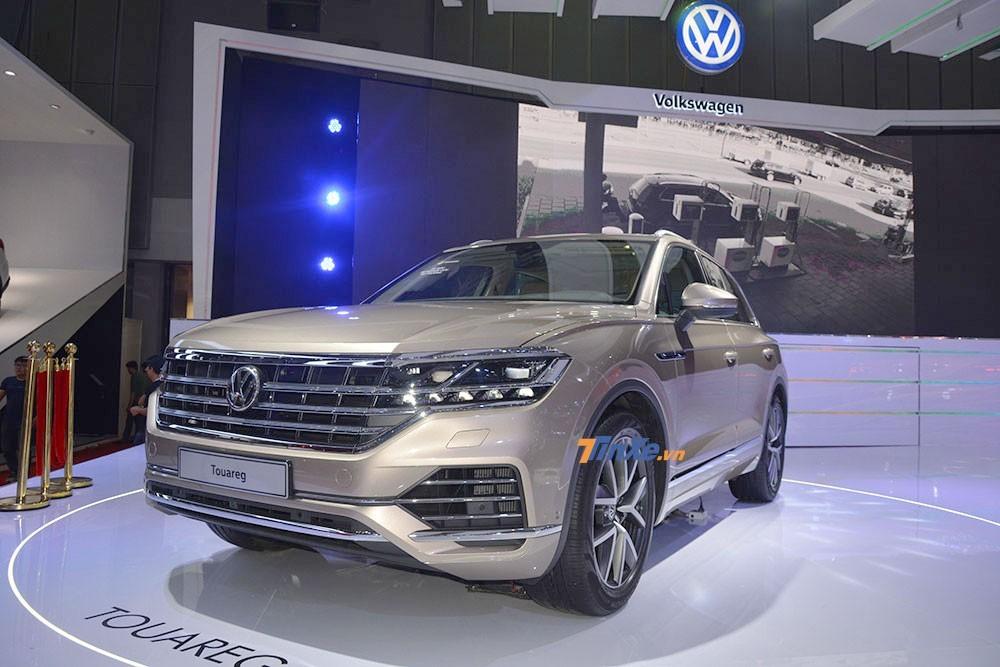 Volkswagen Touareg – mẫu xe gây ấn tượng mạnh tại VMS 2018