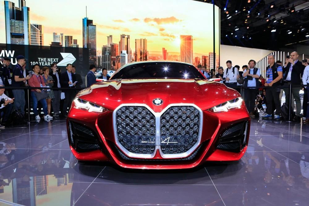 BMW Concept 4 có một bộ mặt phải nói là cực ấn tượng