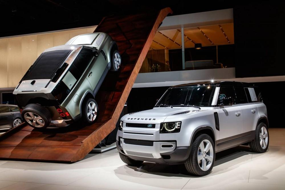 Land Rover Defender 2020 ra mắt trong triển lãm Ô tô Frankfurt 2019