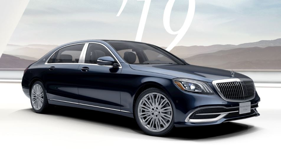 Mercedes-Maybach S560 Xanh Cavansite