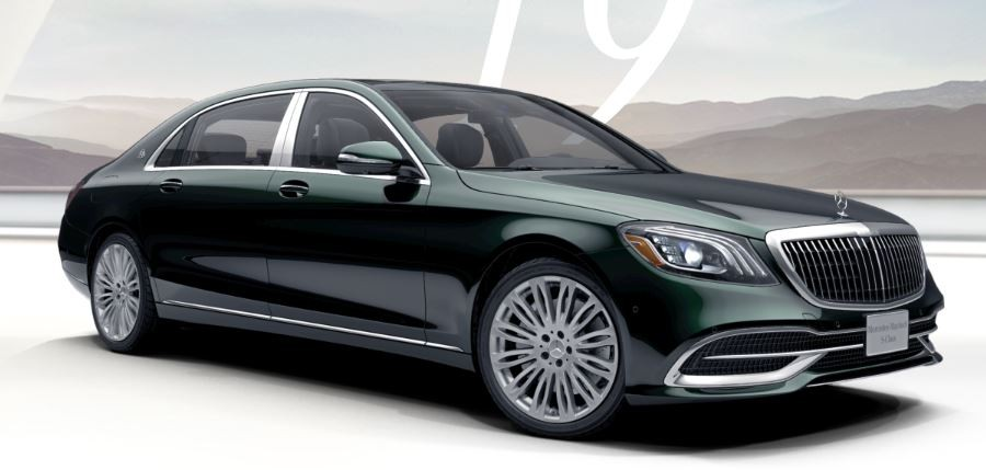 Mercedes-Maybach S560 Xanh Emerald