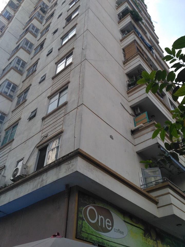 Tòa chung cư N4 - nơi xảy ra sự việc