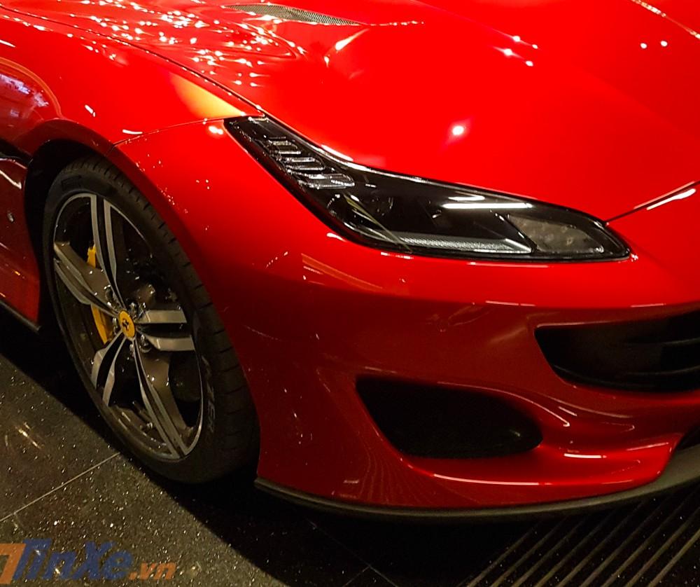 Hốc gió trước của Ferrari Portofino