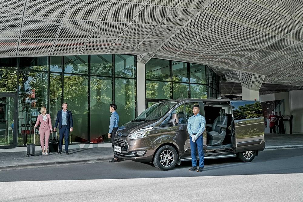 Ford Tourneo sẽ được bàn giao cho khách hàng