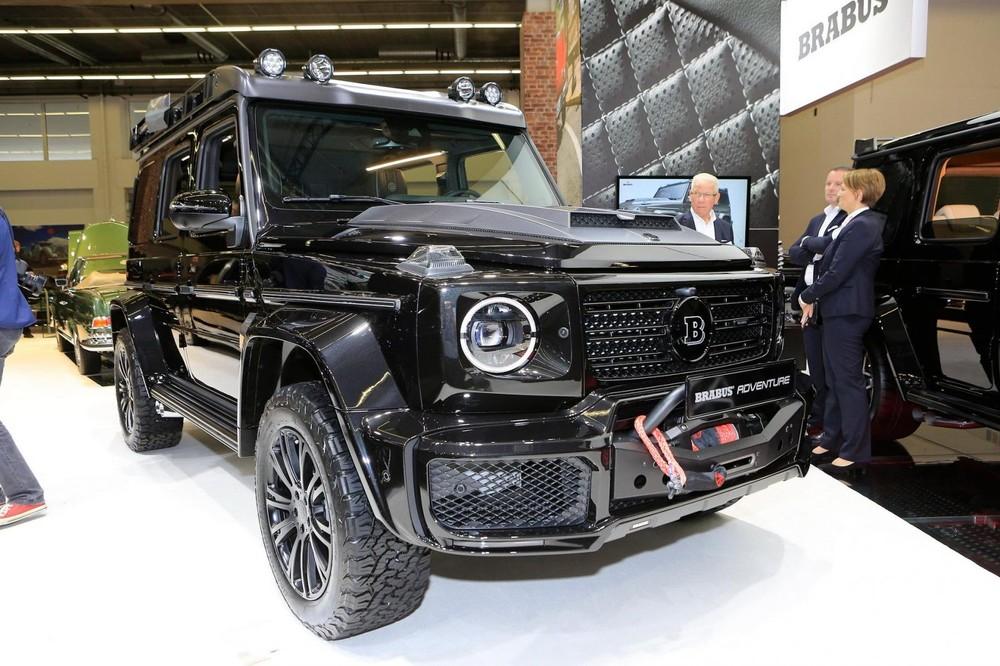 Mercedes-Benz G-Class với gói độ Brabus Adventure