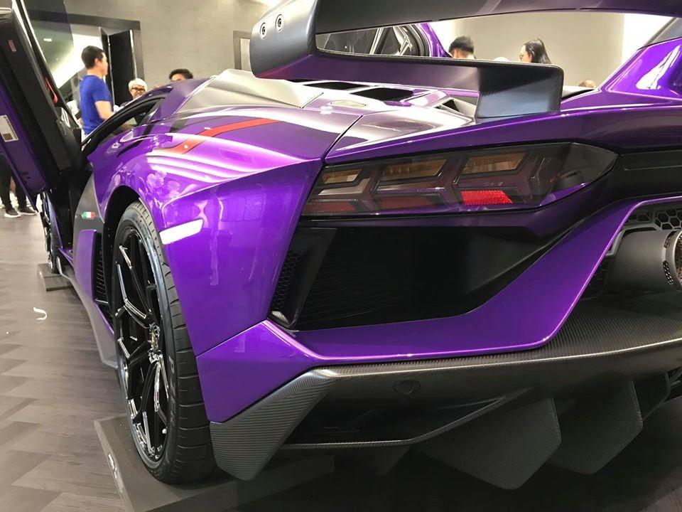 Lamborghini Aventador SVJ tạo ra công suất tối đa 770 mã lực