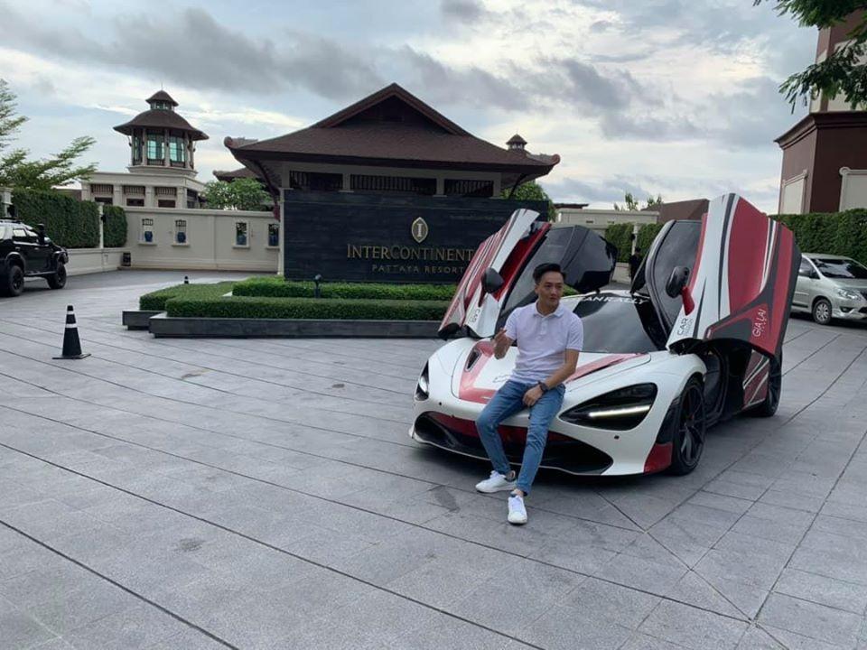 Cường Đô-la đích thân lái McLaren 720S từ Bangkok xuống Pattaya để khảo sát cho Asean Rally 2020