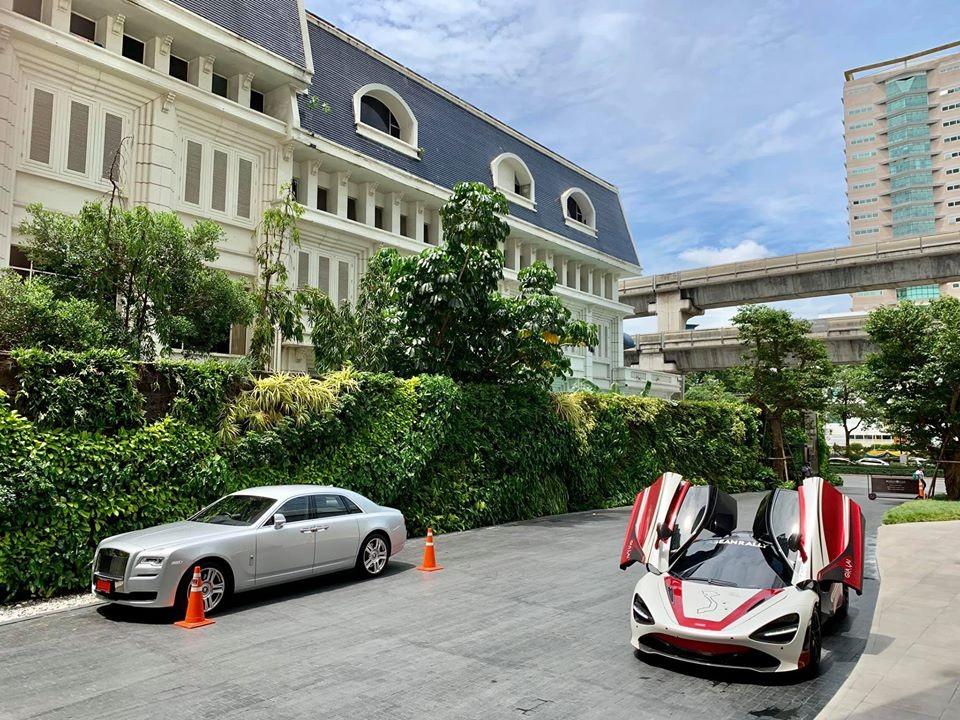 McLaren 720S của Việt Nam tung cảnh trên đất Thái