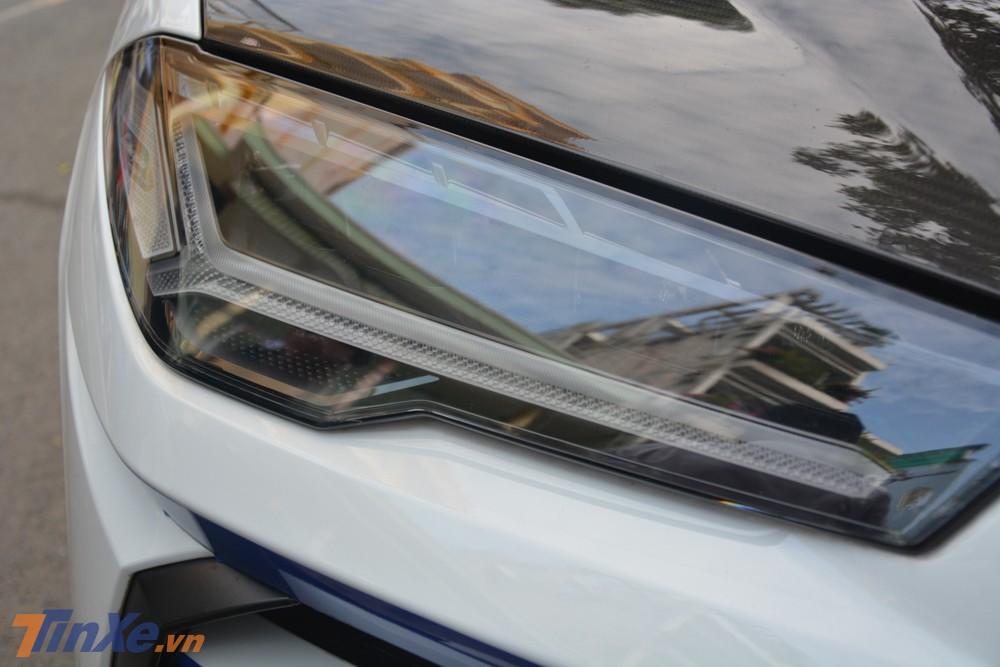 Đèn pha LED trên siêu SUV Lamborghini Urus của Minh Nhựa