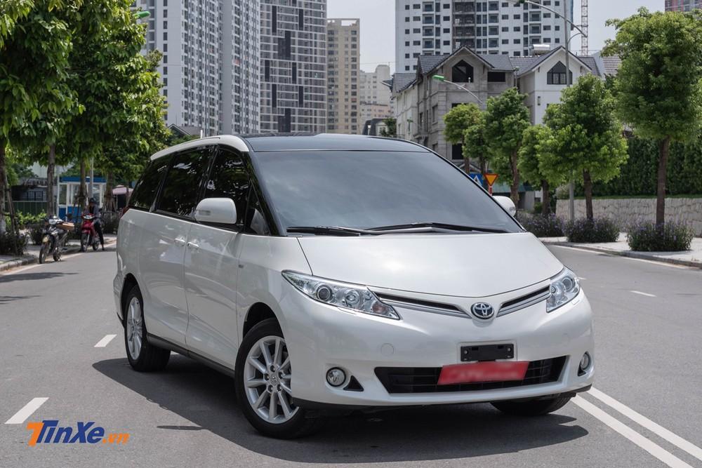 """Thiết kế tổng thể của Toyota Previa 2019 không thay đổi nhiều so với 10 năm trước đây, vẫn là ngoại hình """"hiền lành"""" tạo cảm giác tin cậy"""
