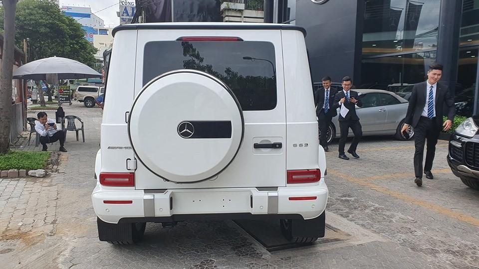 Mercedes-Benz Việt Nam chỉ phân phối chính hãng dòng xe Mercedes-AMG G63 2019, phiên bản đặc biệt Mercedes-AMG G63 2019 Edition 1 2019 không được phân phối