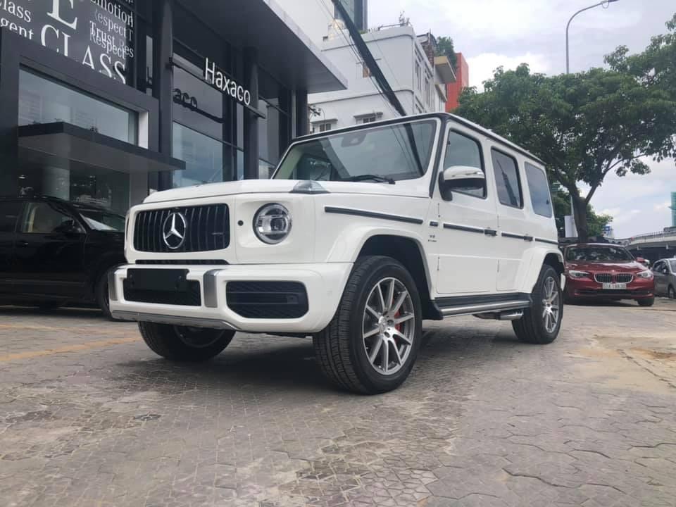 Mức giá bán của Mercedes-AMG G63 2019 chính hãng tại Việt Nam là 10,19 tỷ đồng