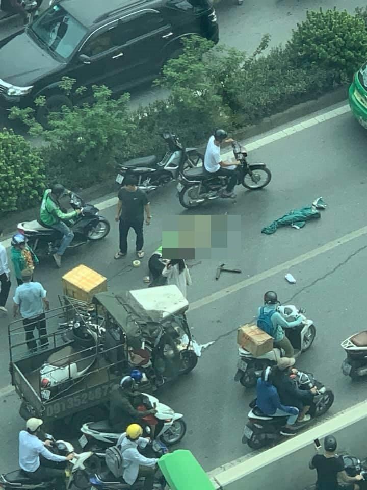 Hiện trường vụ tai nạn hầm Kim Liên khiến 1 người bị thương nặng