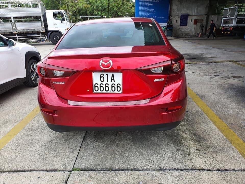Biển số ngũ quý 6 cực độc của chiếc Mazda3 tại Bình Dương