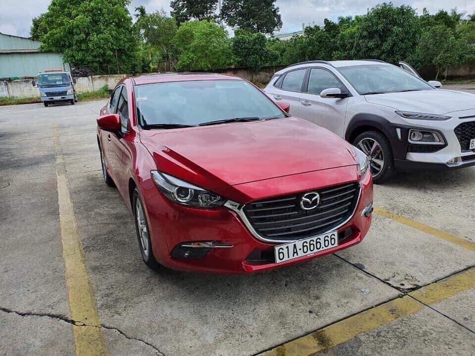 Với biển số có nhiều số 6 như vậy, giá trị của chiếc Mazda3 có thể sẽ tăng hơn gấp 3 lần.