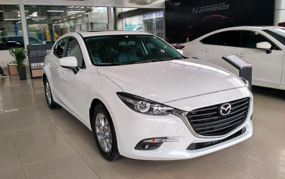 Mazda3 là dòng xe hạng C rất ăn khách do THACO bán ra tại Việt Nam.