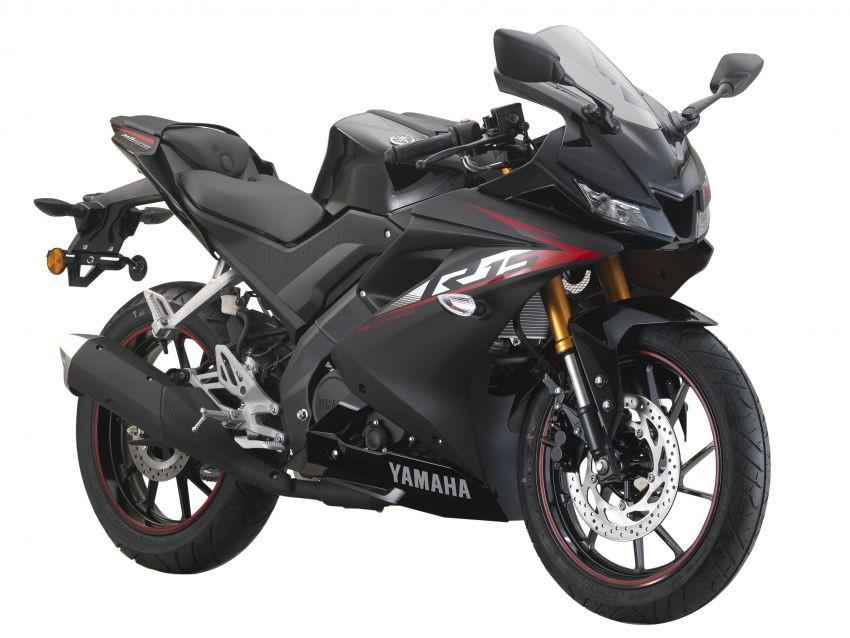 Yamaha R15 màu Đen Đỏ