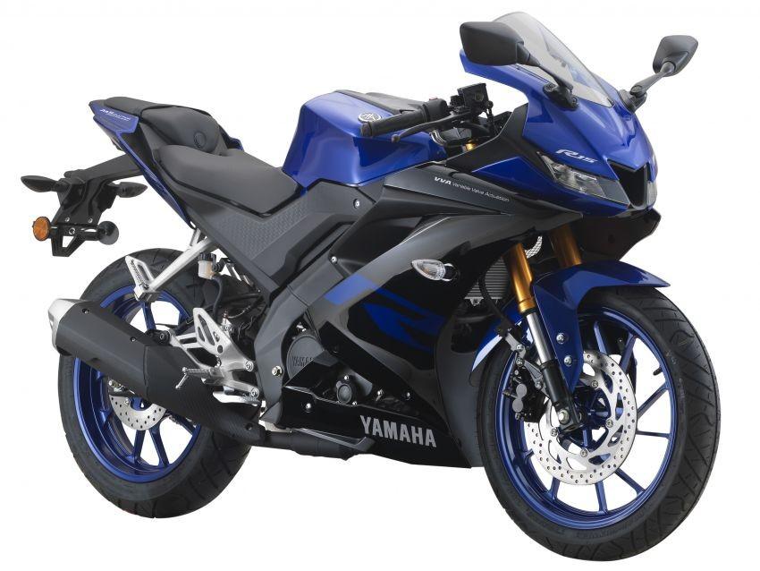 Yamaha R15 màu Xanh Đen