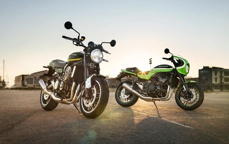 Cặp đôi Kawasaki Z900RS và Z900RS Cafe Racer sẽ có màu mới trong năm 2020