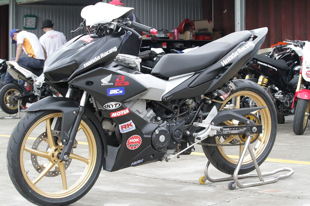 Honda Winner X được hiệu chỉnh so với Winner X nguyên bản