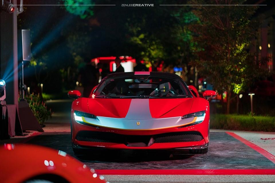Cận cảnh diện mạo của siêu xe Ferrari SF90 Stradale
