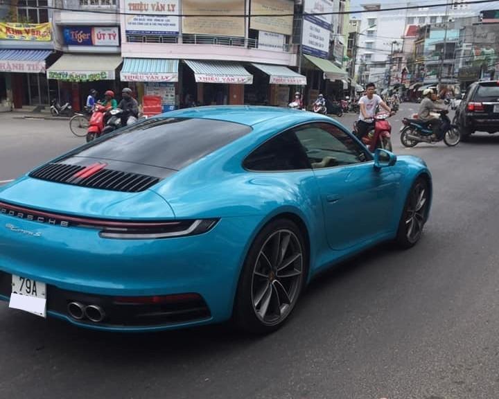 Đây là chiếc Porsche 911 thế hệ thứ 8