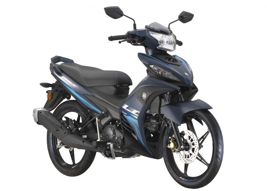 Yamaha 135LC SE có màu sắc và tem xe đặc biệt