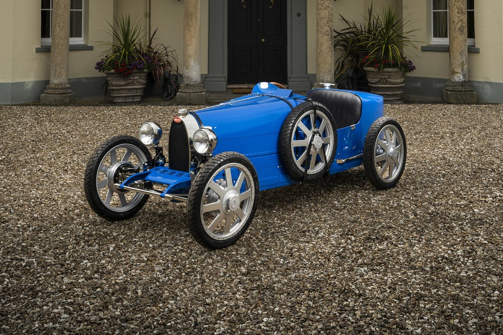 Bugatti Baby II là một chiếc xe đồ chơi với giá bán đắt hơn cả nhiều mẫu xe thật khác