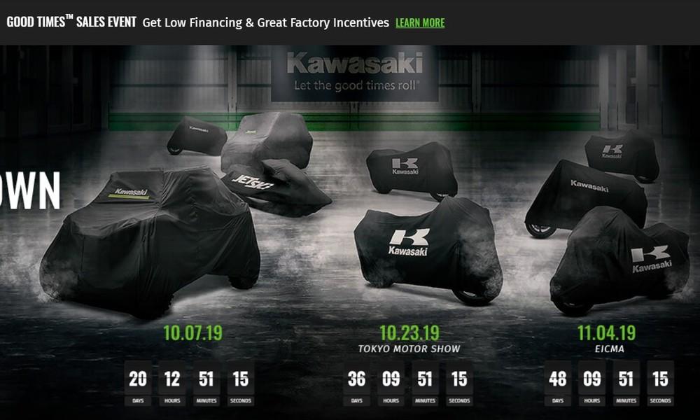 Lịch trình ra mắt cụ thể các mẫu xe mới của Kawasaki