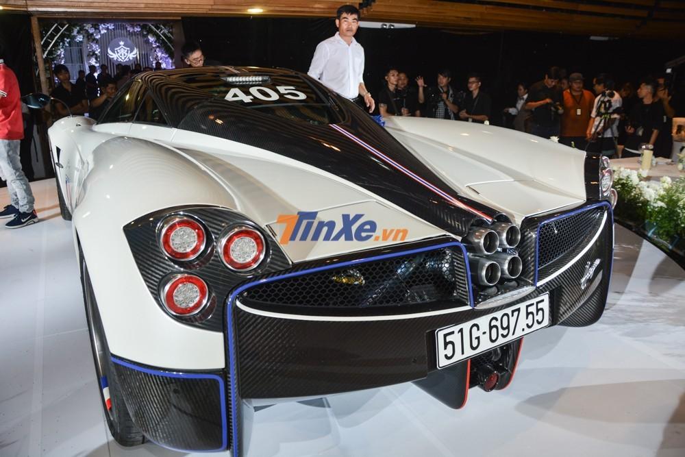 Pagani Huayra hiện là chiếc siêu xe đắt nhất Việt Nam