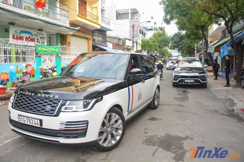 Chiếc SUV hạng sang Range Rover đời 2018 của Minh Nhựa thuộc phiên bản Autobiography