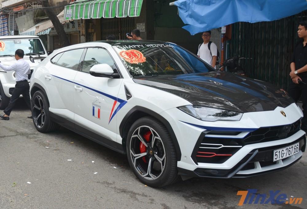 SUV Lamborghini Urus của Minh Nhựa