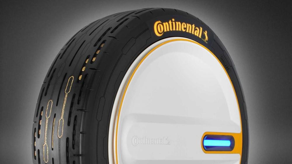 Công ty Continental đã giới thiệu một công nghệ lốp xe hoàn toàn mới