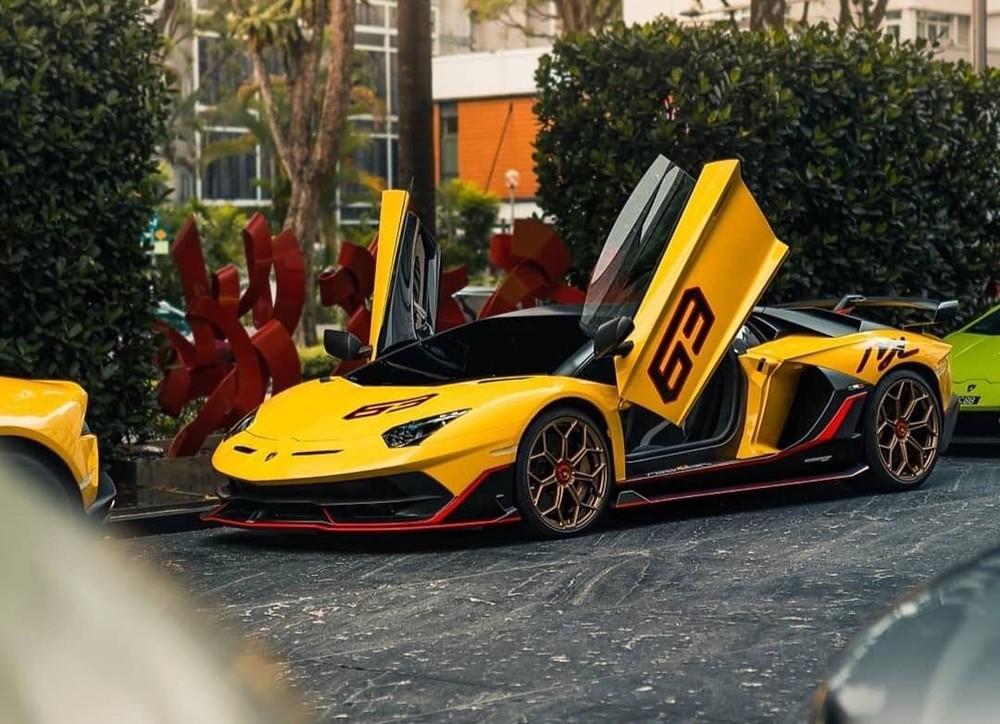 Vẻ đẹp của Lamborghini Aventador SVJ 63 thuộc sở hữu đại gia Malaysia