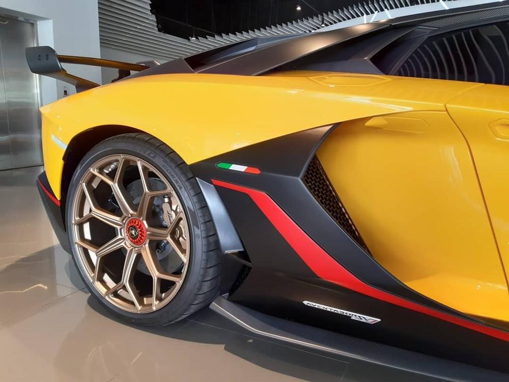 Chỉ có 63 chiếc Lamborghini Aventador SVJ 63 được sản xuất thế giới