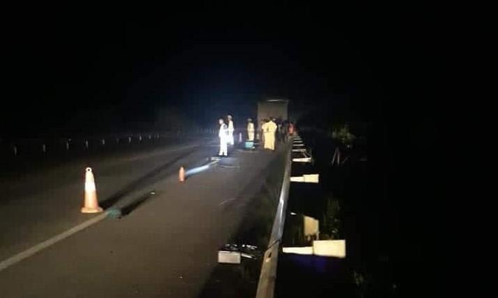 Tai nạn xảy ra trên KM 143 - Cao tốc Nội Bài - Lào Cai
