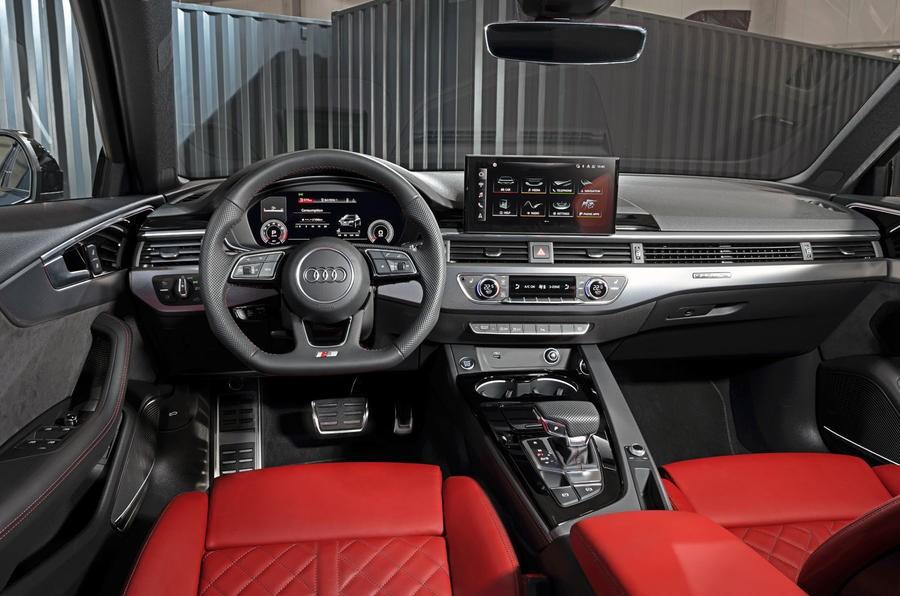 Thiết kế bên trong Audi A4 2019
