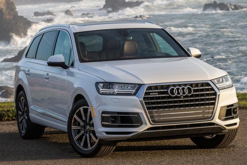 Vẻ ngoài sang trọng của Audi Q7 2019