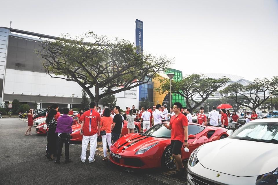 Dàn siêu xe Ferrari này của câu lạc bộ Ferrari Owners Club Singapore