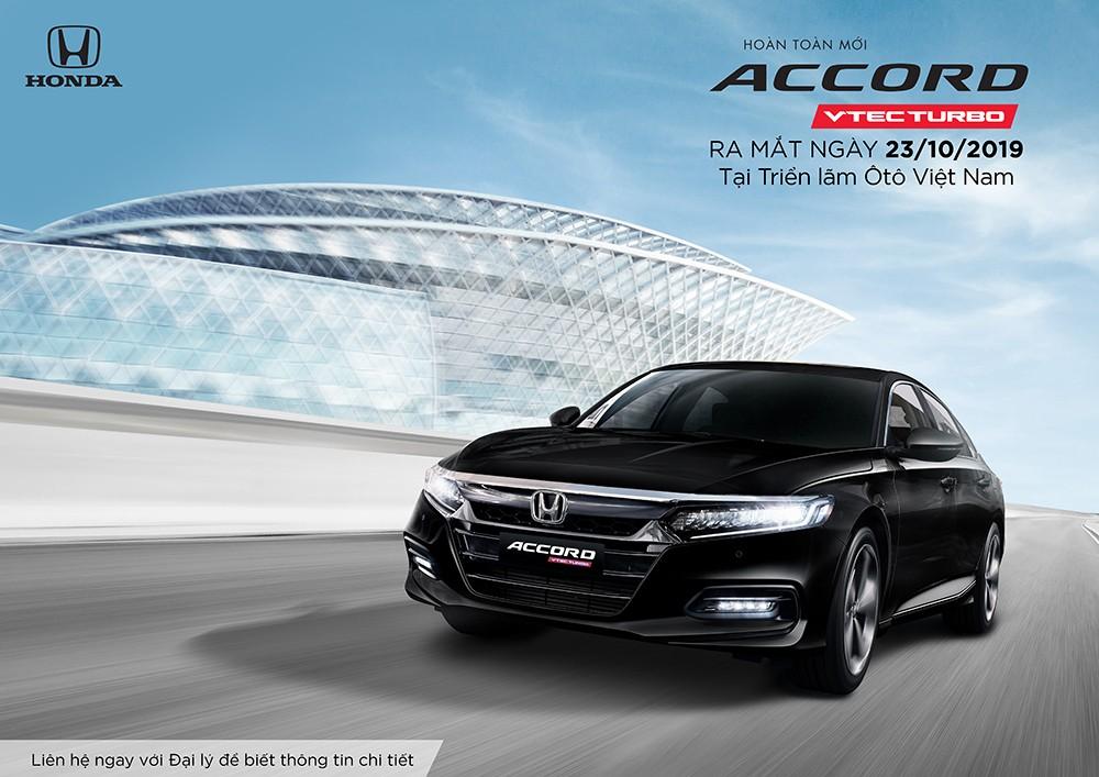 Honda Accord thế hệ thứ 10 sẽ được ra mắt vào tháng 10/2019 và bắt đầu nhận đặt cọc từ 23/a9/2019.