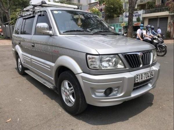 Mitsubishi Jolie 2003 hiện đang được bán lại với mức giá khoảng 120 triệu đồng trên thị trường xe cũ