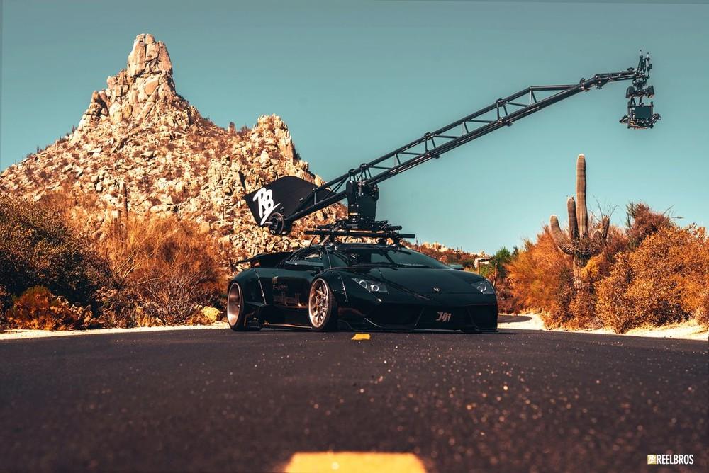 Lamborghini Murcielago độ Liberty Walk chỉ chuyên dùng cho chụp ảnh và quay phim