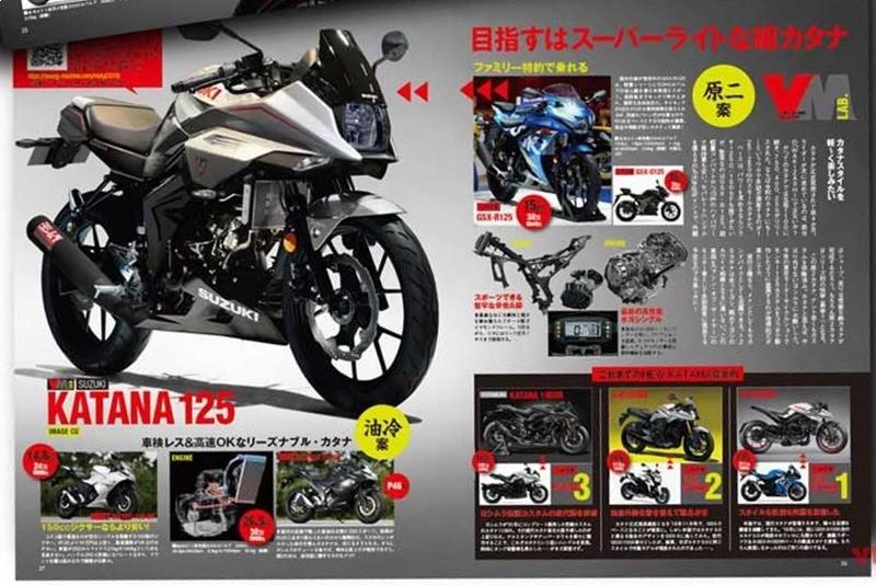 Trang báo về mô tô nổi tiếng tại Nhật Bản đưa tin về Katana 125