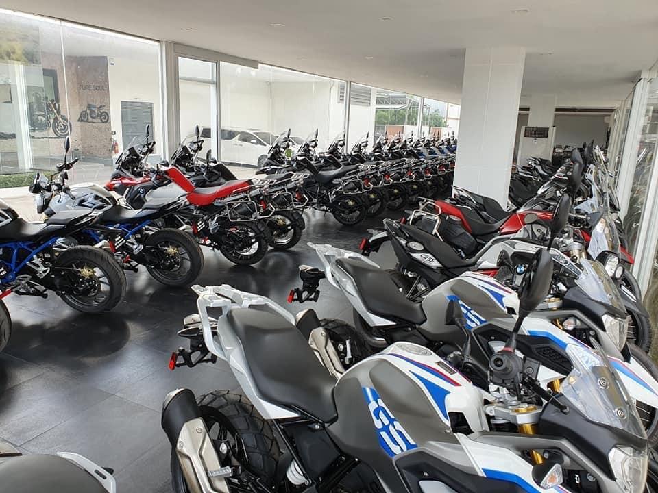 Những mẫu xe đình đám có mặt tại BMW Motorrad